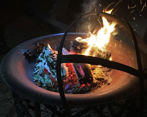 buying an outdoor fire pit poker